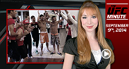 UFC Minute host Lisa Foiles runs down all the need to know news for Tuesday, September 9.