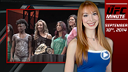 UFC Minute host Lisa Foiles runs down all the need-to-know news for Wednesday, September 10, including tonight's premiere of The Ultimate Fighter, and a new fight for season 10 finalist Brendan Schaub.