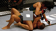 Octagon photos from the first episode of The Ultimate Fighter: A Champion Will Be Crowned.