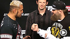UFC 파이트나이트 도쿄의 공식 계체량 측정 현장을 확인해 보자