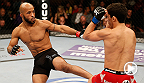 "Reigning flyweight champion Demetrious ""Mighty Mouse"" Johnson flashes his quickness and technique against top challenger Joesph Benavidez. Watch ""Mighty Mouse"" look to defend his title as he takes on Chris Cariaso in the main event at UFC 178."