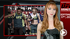 Lisa Foiles runs down all the need-to-know news from today, September 17, including an all-new episode of The Ultimate Fighter season 20, today's Ultimate Media Day, and the Miesha Tate collection on UFC FIGHT PASS.