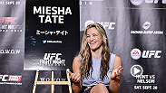 UFC Woman's Bantamweight Contender Miesha Tate discusses her upcoming bout vs Rin Nakai in Japan, moving to Vegas, her training camp and signing with Kevin Harvick Inc.