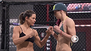 Check out the weigh-in before Joanne Calderwood and Emily Kagan go to war tonight on an all-new episode of The Ultimate Fighter.