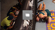 Octagon photos from the second episode of The Ultimate Fighter: A Champion Will Be Crowned. Featuring the bout between Joanne Calderwood and Emily Kagan.
