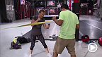 Lisa Ellis prepares for her rematch against former Invicta FC champion Jessica Penne in episode three of The Ultimate Fighter: A Champion Will Be Crowned.