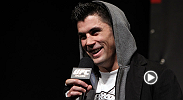 Hear the former UFC bantamweight champion Dominick Cruz talk about his layoff due to multiple injuries and what it took for him to make his way back to the Octagon. He faces Takeya Mizugaki at UFC 178.