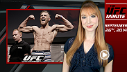 Lisa Foiles runs down all of the need-to-know news for Thursday, September 26, including UFC 178 weigh-ins, the last episode of Embedded, and the return of International Fight Week!