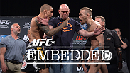 The stars of this much-anticipated PPV card get in their final training and grooming before facing the scale and their opponent on the weigh-in stage. Check out the final installment of UFC 178 Embedded and don't miss all the action!