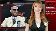 UFC Minute host Lisa Foiles gives fans a recap of UFC 178 and looks ahead to the international double header this weekend.