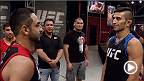 Colombian Alex Torres trains to fight Mexican Rodolfo Rubio with the help of his coaches and former instructor, Fredy Serrano. Cain brings in undefeated UFC fighter Daniel Cormier to help Rubio and the rest of the team regain control of the fight pick.
