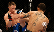 Lightweight newcomer Chris Wade got a hold of his opponent, Cain Carrizosa, and never let up, earning himself his first Octagon submission victory. Watch the replay of UFC 177 prelims on UFC FIGHT PASS: http://www.ufc.tv/video/prelims-dillashaw-vs-barao.
