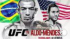 UFC 179では待望の再戦、フェザー級タイトルマッチのジョゼ・アルド対チャド・メンデス、そしてライトヘビー級のグローヴァー・テイシェイラ対フィル・デイヴィスが実現!日本時間10月26日に行われる大会をペイパービューで楽しもう!