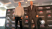 UFC bantamweights Bryan Caraway, Raphael Assuncao, and Halifax headliners Rory MacDonald and Tarec Saffiedine meet with the media before taking the Octagon on Saturday at Fight Night Halifax.