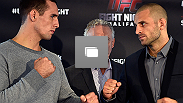 UFC Fight Night Halifax Fotogalería Día de Medios, Octber 2 de 2014 en Halifax, Nueva Escocia, Canadá.