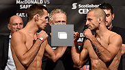 UFC Fight Night weigh-in at the Scotiabank Centre on October 3, 2014 in Halifax, Nova Scotia, Canada.