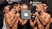 UFC Fight Night Halifax Fotogalería del Pesaje en el Scotiabank Centre en Halifax, Nueva Escocia, Canada.  Octubre 3 de 2014.