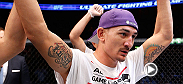 UFC correspondent Caroline Pearce catches up with Holloway backstage after his big victory in Sweden. The featherweight talks about his performance and what's next.