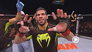 With seven straight wins under his belt, bantamweight Raphael Assuncao is ready for his shot at the 135lb. title. Hear from the Brazilian fighter after his win over Bryan Caraway at Fight Night Halifax.