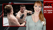 UFC Minute host recaps this weekend's events and previews the UFC's return to Rio at UFC 179 on October 25th!