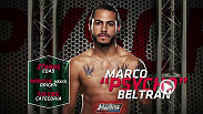 Get to know Team Velasquez fighter Marco Beltran before he takes on Guido Cannetti in episode seven of The Ultimate Fighter Latin America!