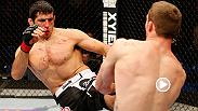 Beneil Dariush, se prepara para enfrentar a Diego Ferreira en UFC 179. Vealo aquí como somete a Tony Martin.