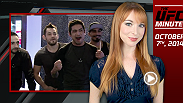 Lisa Foiles updates fans on the latest episode of The Ultimate Fighter Latin America, the matchup between fan favorites Diego Sanchez and Joe Lauzon, and the return of Josh Burkman!