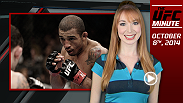 UFC Minute host Lisa Foiles updates fans on what to look for on UFC.com on Wednesday, October 8.