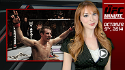 UFC Minute Lisa Foiles gives fans a preview of what to look for on UFC.com on Thursday, October 9.