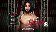 Team Velasquez's Masio Fullen discusses his excitement to fight on The Ultimate Fighter and the importance of representing his country well on the show.