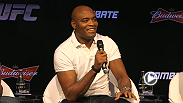 Watch a UFC press conference with Anderson Silva, live Tuesday.