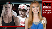 UFC Minute host Lisa Foiles runs down all the need-to-know news for Friday, October 10, including Holly Holm's UFC debut, how to get your tickets to Fight Night Phoenix, and the Ronda Rousey t-shirt contest!