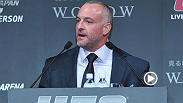 UFC CEO Lorenzo Fertitta reflects on Anderson Silva's return to training and upcoming return to the Octagon in January. Fertitta says he's never seen Anderson this motivated and excited to watch The Spider against Nick Diaz at UFC 183!