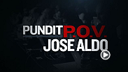 Various members of the MMA media, including Ariel Helwani, John Morgan and Marc Raimondi, talk about Jose Aldo's place in the pound-4-pound debate and why he is one of the top fighters in the world today.
