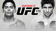 UFC Countdown takes you behind the scenes before UFC 179 as three Brazilians brace to do battle. In this segment, undefeated lightweight prospect Diego Ferreira prepares to face fellow upstart Beneil Dariush.