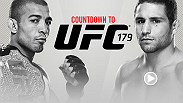 Countdown takes you behind the scenes before UFC 179 as three Brazilians brace to fight. Reigning featherweight champion Jose Aldo welcomes Team Alpha Male rival Chad Mendes back to the country, his mind as intent on victory as Mendes' is on redemption.