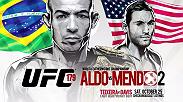 Vean el conteo regresivo a UFC 179 Aldo vs Mendes II, además los combates ent