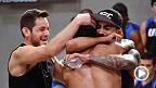 """Alejandro """"El Diablito"""" Pérez, vence a Guido Cannetti con un impresionate KO y asegura su paso a la final. Aquí su reacción."""