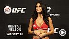 L'Octagon Girl de l'UFC, Arianny Celeste, a accordé une entrevue approfondie à Diane Tauzon de CBS News à Las Vegas au sujet de sa vie et de sa carrière.