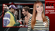 The UFC Minute returns as host Lisa Foiles runs down what to expect during the UFC 179 fight week!