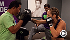 Team Melendez fighter Heather Clark prepares to avenge a 2013 loss to Felice Herrig in an all-new episode of The Ultimate Fighter. Check out her practice highlights here, then watch them duke it out Wednesday at 10PM/7PM ETPT on FOX Sports 1!