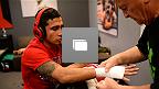 """Fotogalería del episodio 10 de The Ultimate Fighter Latinoamérica, pelea semi final entre Alejandro """"El Diablito"""" Pérez vs Guido """"Ninja"""" Cannetti"""