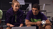 Gilbert Melendez joins Heather Clark for some film review before her bout against former Invicta foe Felice Herrig on the next episode of The Ultimate Fighter.