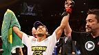 El sábado 25 de octubre de 2014, el camoeón de las 145 libras de UFC José Aldo se enfrenta de nueve al contendiente número 1, Chad Mendes.No se pierda este evento en vivo por UFC Network.