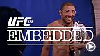 Le champion poids plume Jose Aldo se prépare pour sa défense de titre chez lui à Rio.  Il ne mâche pas ses mots à l'endroit de son adversaire Chad Mendes et de la star montante Conor McGregor. Pendant ce temps, Mendes s'entraîne aux côtés de Nate Diaz.