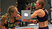 Photos from the fifth episode of The Ultimate Fighter, featuring the bout between Heather Clark and Felice Herrig!