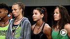 Après avoir reçu la nouvelle de la blessure de Justine Kish, le président de l'UFC a annoncé que Tecia Torres aura droit à une seconde chance. Malgré les plaintes des membres de l'équipe, Melendez n'a pu convaincre White que le changement est injuste.