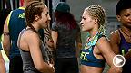 Heather Clark en avait gros sur le coeur après son combat contre sa rivale, Felice Herrig.