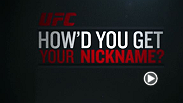 Stars from UFC 179 reveal how they received they nicknames. UFC 179 goes down this Saturday, October 25th on Pay-Per-View!