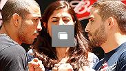 Treinos abertos do UFC 179, no dia 23 de outubro, 2014 no Rio de Janeiro, Brasil. (Fotos de Josh Hedges/Zuffa LLC/Zuffa LLC via Getty Images)